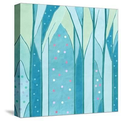 Background of Trees,, Vintage-vipa21-Stretched Canvas Print