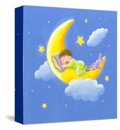 Lullaby-andreapetrlik-Stretched Canvas Print