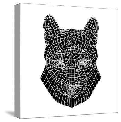 Mountain Lion Mesh-Lisa Kroll-Stretched Canvas Print