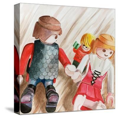 Photobomb-Jennifer Redstreake Geary-Stretched Canvas Print