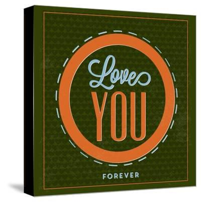 Love You Forever 1-Lorand Okos-Stretched Canvas Print