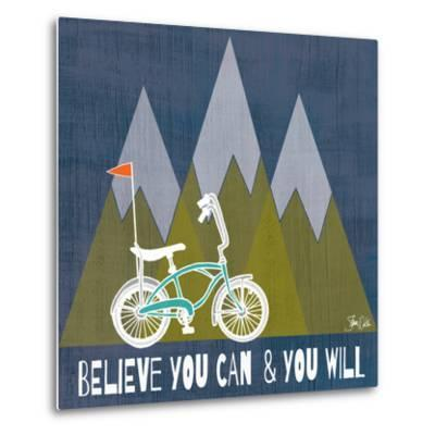 Believe You Can-Shanni Welch-Metal Print
