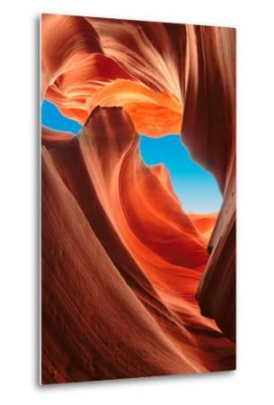 Lower Antelope Canyon, Arizona-lucky-photographer-Metal Print