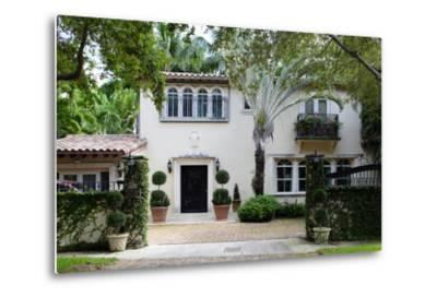 South Florida Home Exterior-felix mizioznikov-Metal Print