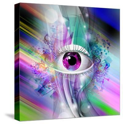 Eye-reznik_val-Stretched Canvas Print