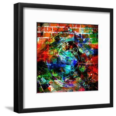 Time Machine-reznik_val-Framed Art Print