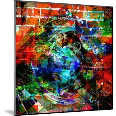 Time Machine-reznik_val-Mounted Art Print