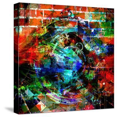 Time Machine-reznik_val-Stretched Canvas Print