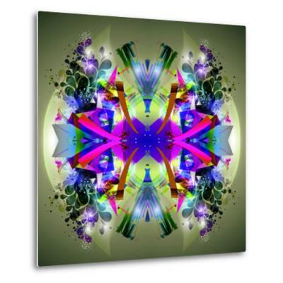 Abstract Symmetry-reznik_val-Metal Print