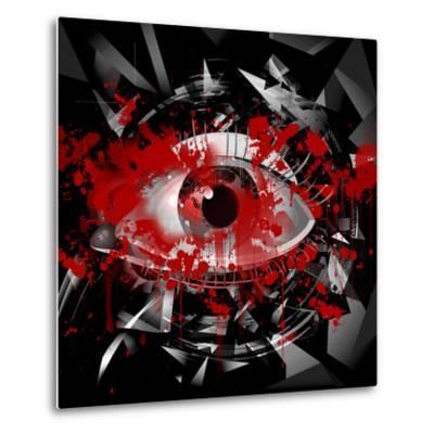 Eye-reznik_val-Metal Print