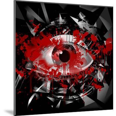 Eye-reznik_val-Mounted Art Print