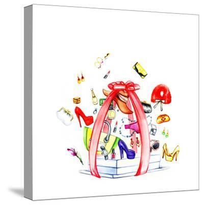 Fashion Purchases . Accessories-Anna Ismagilova-Stretched Canvas Print