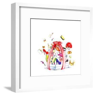 Fashion Purchases . Accessories-Anna Ismagilova-Framed Art Print