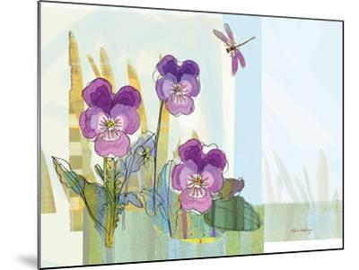 Green Earth Pansie 13-Robbin Rawlings-Mounted Art Print
