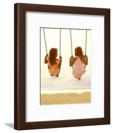 Swing Together-Betsy Cameron-Framed Art Print