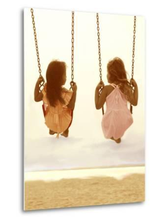 Swing Together-Betsy Cameron-Metal Print