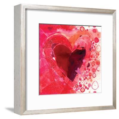 RR Heart 7-Robbin Rawlings-Framed Art Print
