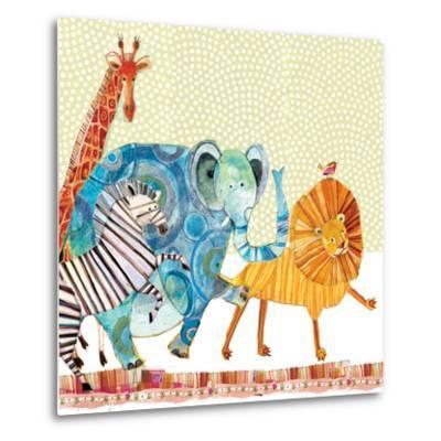Safari Parade-Robbin Rawlings-Metal Print