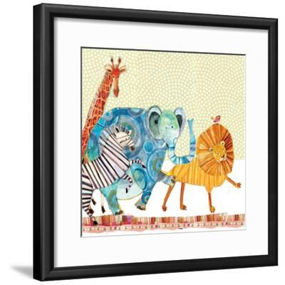 Safari Parade-Robbin Rawlings-Framed Premium Giclee Print