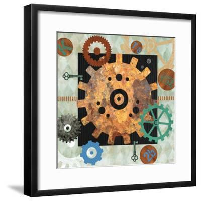Steampunk City-Bee Sturgis-Framed Art Print