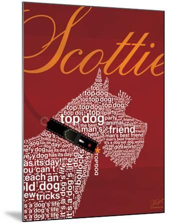 Top Dog Scottie-Dominique Vari-Mounted Art Print