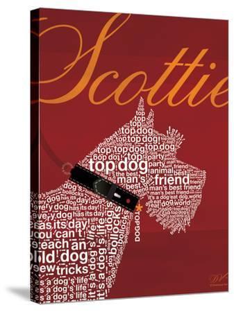 Top Dog Scottie-Dominique Vari-Stretched Canvas Print
