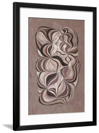 Ancient Swirl-Dominique Vari-Framed Art Print