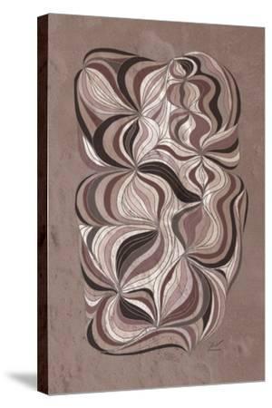 Ancient Swirl-Dominique Vari-Stretched Canvas Print