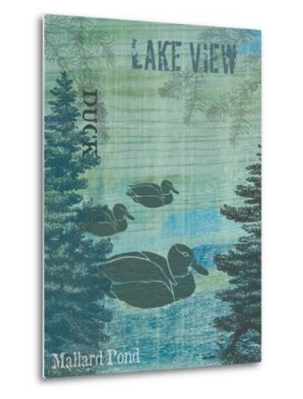 Lake View-Bee Sturgis-Metal Print