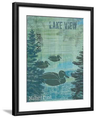 Lake View-Bee Sturgis-Framed Art Print