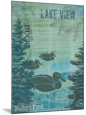 Lake View-Bee Sturgis-Mounted Art Print