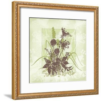 Floral Bouquet-Bee Sturgis-Framed Art Print