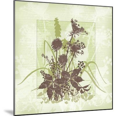 Floral Bouquet-Bee Sturgis-Mounted Art Print