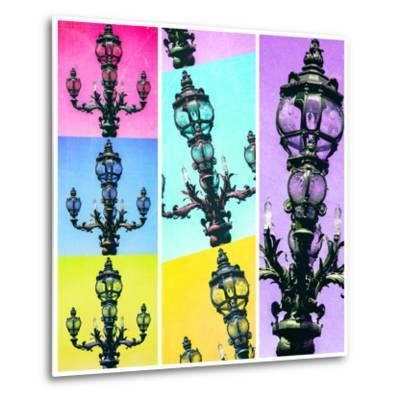 Paris Focus - Paris Pop Art-Philippe Hugonnard-Metal Print