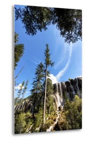 China 10MKm2 Collection - Waterfalls in the Jiuzhaigou National Park-Philippe Hugonnard-Metal Print