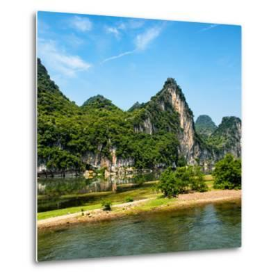 China 10MKm2 Collection - Yangshuo Li River-Philippe Hugonnard-Metal Print