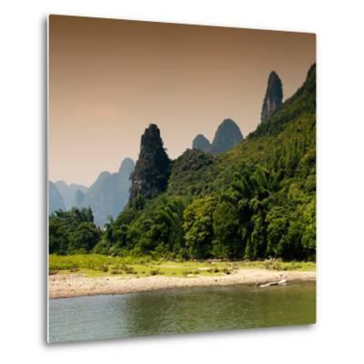 China 10MKm2 Collection - Yangshuo Li River-Philippe Hugonnard-Metal Print