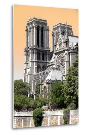 Paris Focus - Notre Dame Cathedral-Philippe Hugonnard-Metal Print