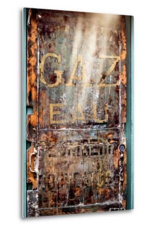 Paris Focus - Old Door 19th-Philippe Hugonnard-Metal Print