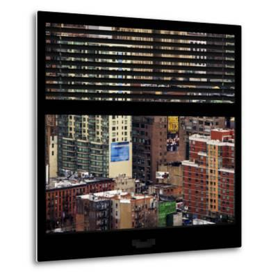 View from the Window - Hell's Kitchen - NYC-Philippe Hugonnard-Metal Print