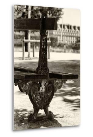 Paris Focus - Public Bench-Philippe Hugonnard-Metal Print