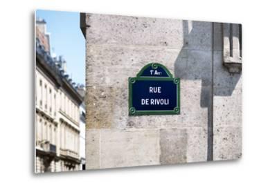 Paris Focus - Rue de Rivoli-Philippe Hugonnard-Metal Print