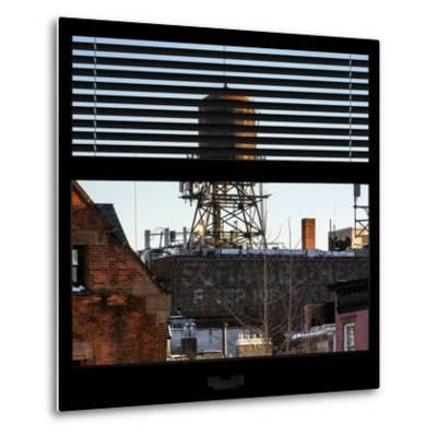 View from the Window - NYC Water Tank-Philippe Hugonnard-Metal Print