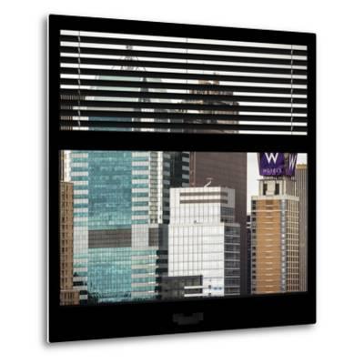 View from the Window - Manhattan Buildings-Philippe Hugonnard-Metal Print