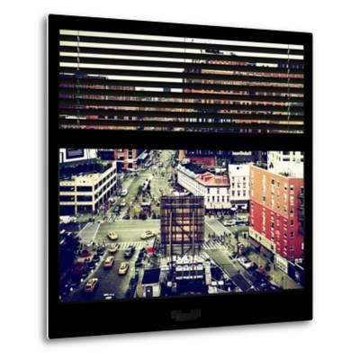 View from the Window - Chelsea Buildings - Manhattan-Philippe Hugonnard-Metal Print