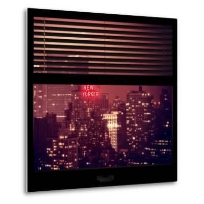 View from the Window - The New Yorker-Philippe Hugonnard-Metal Print