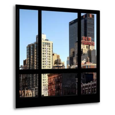 View from the Window - NYC Architecture-Philippe Hugonnard-Metal Print