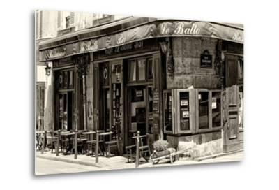 Paris Focus - Parisian Bar-Philippe Hugonnard-Metal Print