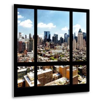 View from the Window - Midtown Manhattan-Philippe Hugonnard-Metal Print