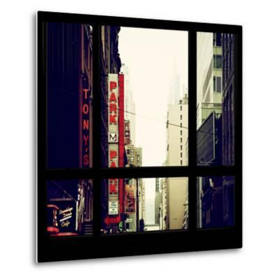 View from the Window - NYC Park-Philippe Hugonnard-Metal Print